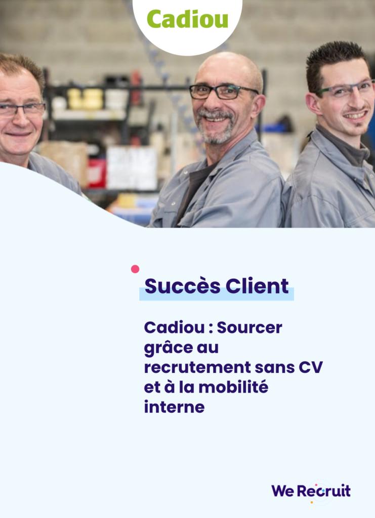 Couverture du succès client Cadiou