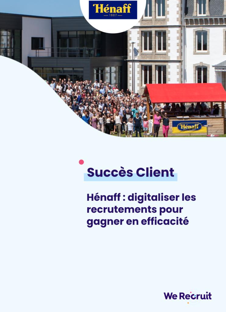 Couverture du succès client Hénaff