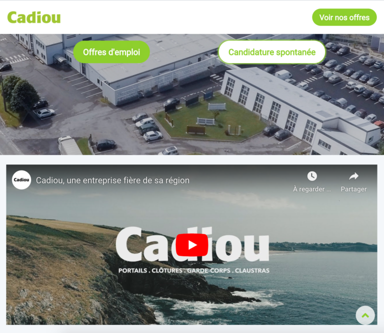 site carriere cadiou