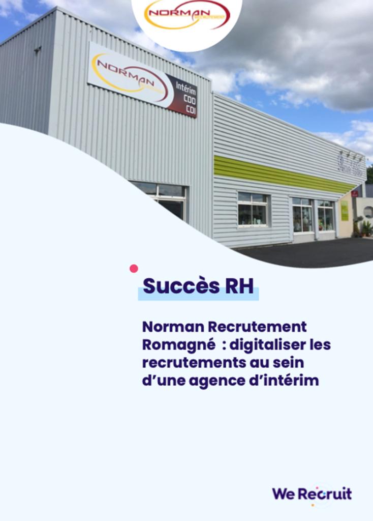 Le succès RH de l'agence d'intérim Norman Recrutement Romagné
