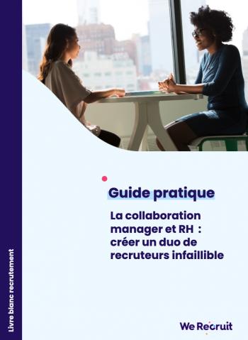Couverture du livre blanc sur le recrutement collaboratif